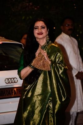 Actress Rekha. (Photo: IANS)
