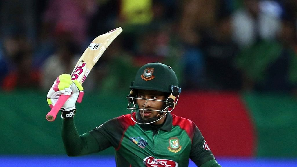 Mushfiqur scored a career-best 144 off 150 balls with 11 boundaries and four sixes for his sixth ODI hundred.