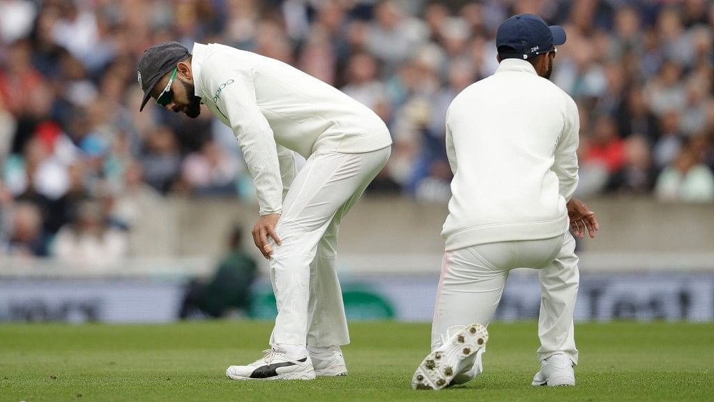 The Indian bowlers again had tough time getting the English tailenders out on Saturday morning.