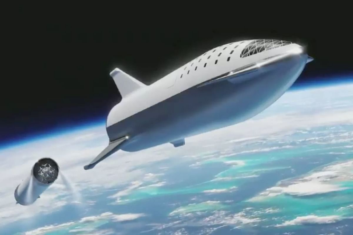 SpaceX's upcoming Big Falcon Rocket.