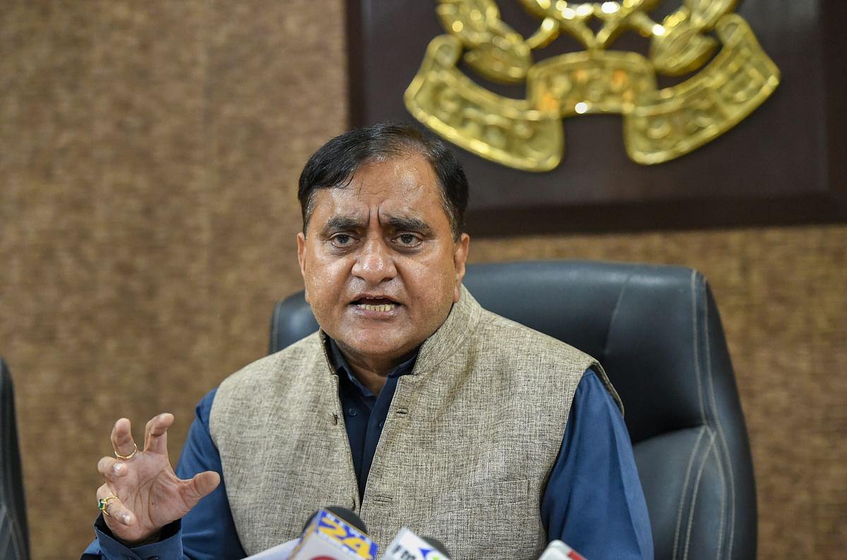 Uttar Pradesh Director General of Police (DGP) OP Singh.