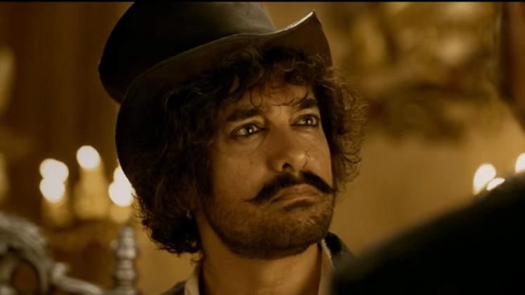 Aamir Khan in a still of <i>Thugs of Hindostan</i>.