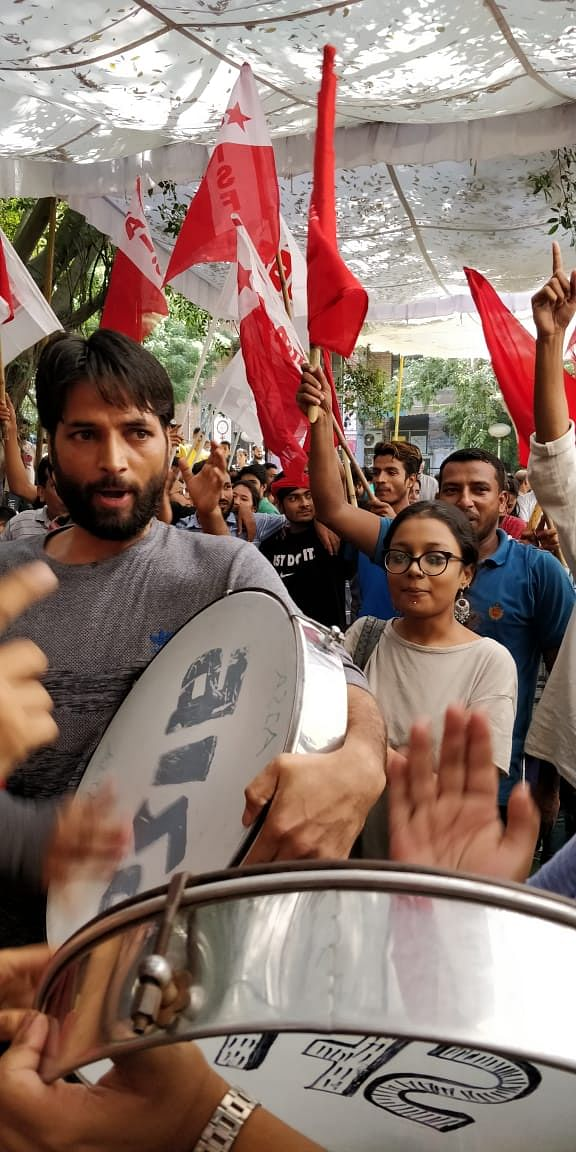 JNUSU Polls 2018: It's All Red as Left Unity Sweeps All Four Seats