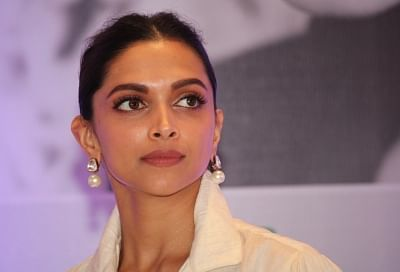 "New Delhi: Actress Deepika Padukone during an interactive session on ""Finding Beauty In Imperfection"" organised by FICCI Ladies Organisation, in New Delhi on Sept 8, 2018. (Photo: Amlan Paliwal/IANS)"