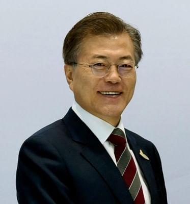 President of South Korea Moon Jae-in. (File Photo: IANS)