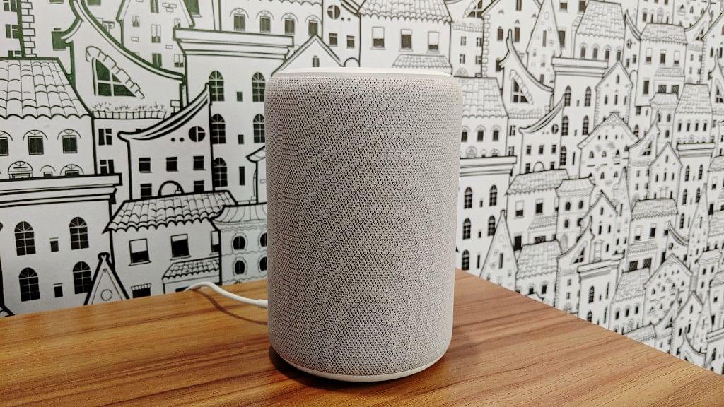 The new version of Amazon's Echo Plus smart speaker.