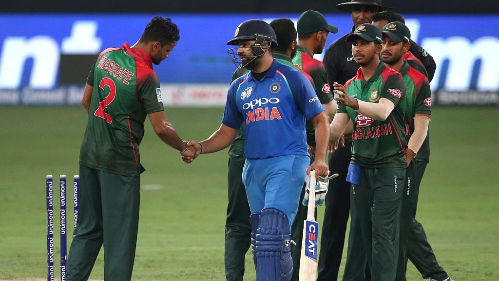India defeated Bangladesh by seven wickets in the Super Four stage of the Asia Cup.