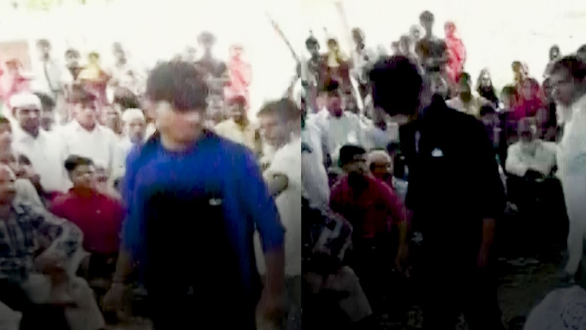 Moradabad: Boys Thrashed for Fight Over DJ  in front of Panchayat