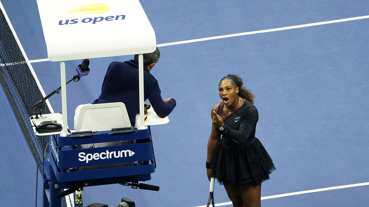 US Open Final: Serena Williams Fined $17,000 for 3 Code Violations