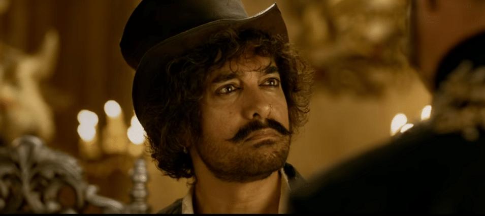 Aamir Khan in <i>Thugs of Hindostan</i>.