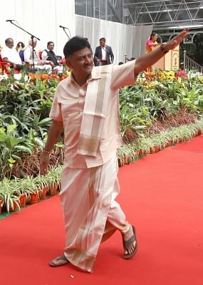 D K Shivakumar. (Photo: IANS)