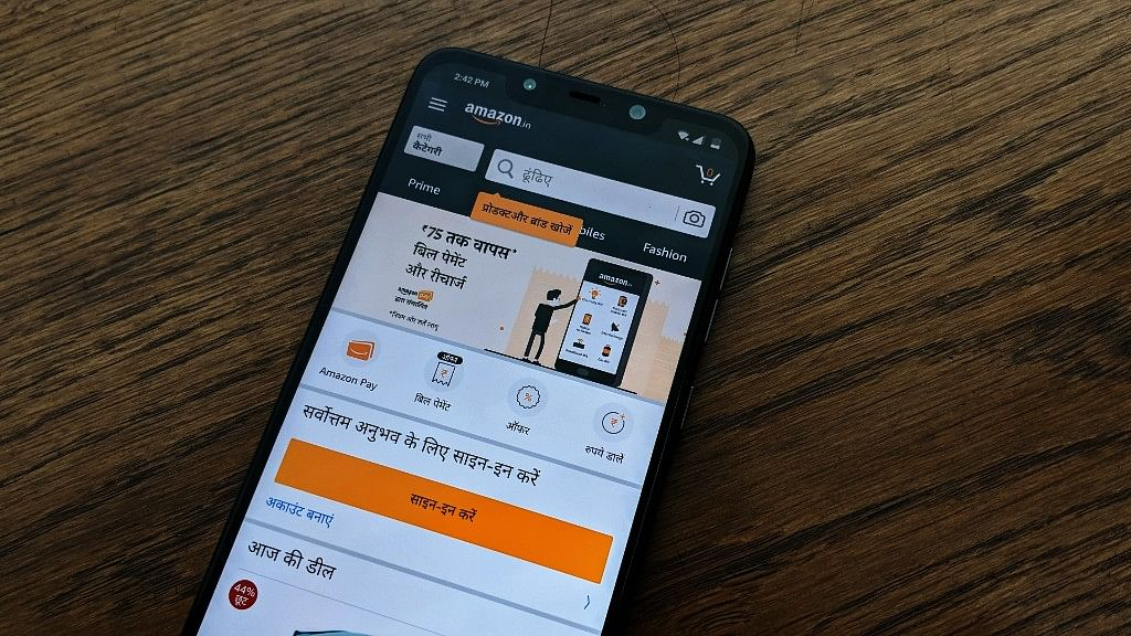 Amazon Hindi support will be available on the Android app and mobile website.
