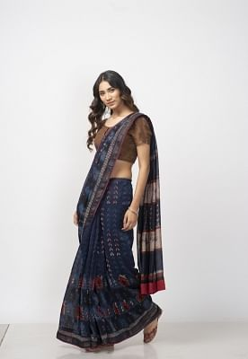 Indigo Look from Fabindia.