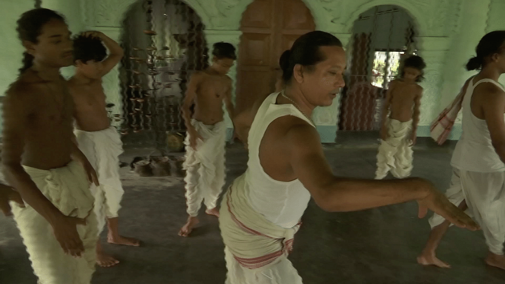 Flood Waters Threaten Vaishnavite Monasteries in Assam