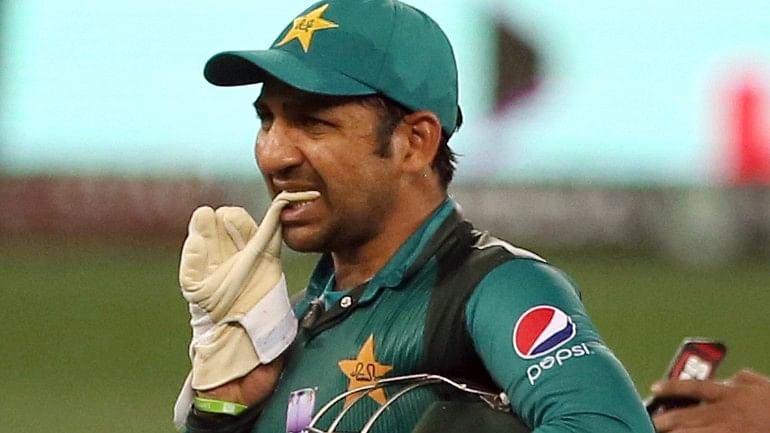 Sarfraz Ahmed managed to score only six runs before getting dismissed.