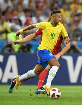 Neymar. (Xinhua/Du Yu/IANS)