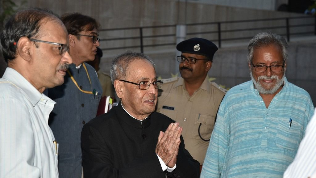 Former Prez Pranab Mukherjee Now Visiting Faculty at IIM Ahmedabad