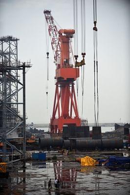 Oil rig. (File Photo: IANS)