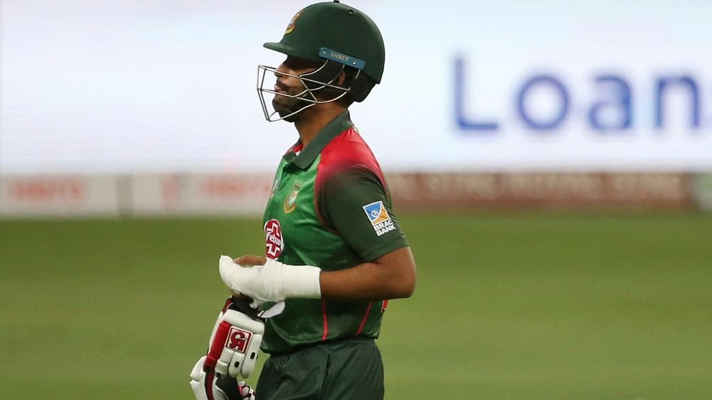 Tamim Iqbal injured his hand during Bangladesh's opening match of the Asia Cup.