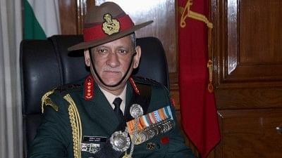Chief of Army Staff Bipin Rawat.