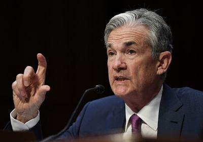 U.S. Federal Reserve Chairman Jerome Powell. (File Photo: Xinhua/Liu Jie/IANS)