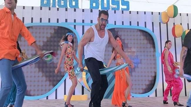 Salman Khan at Big Boss Season 12 launch in Goa.