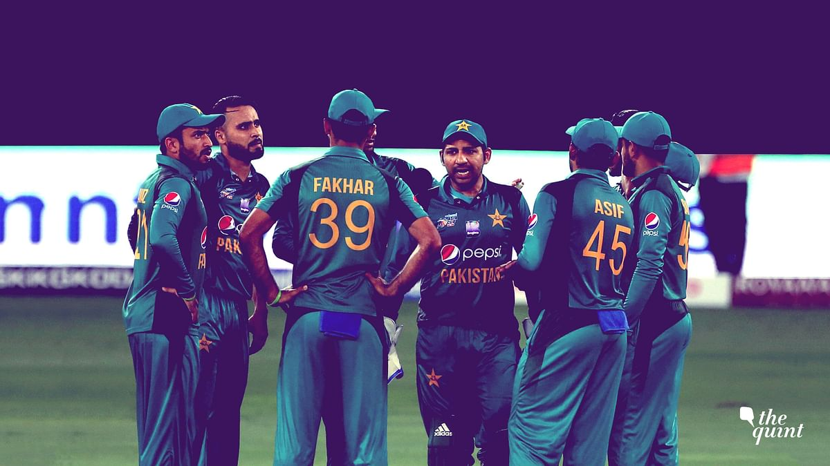 The Pakistan cricket team is playing India on Sunday in the Asia Cup.