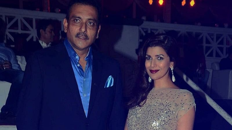 """Ravi Shastri Calls Reports of Link-Up to Nimrat Kaur """"Cow Dung"""""""