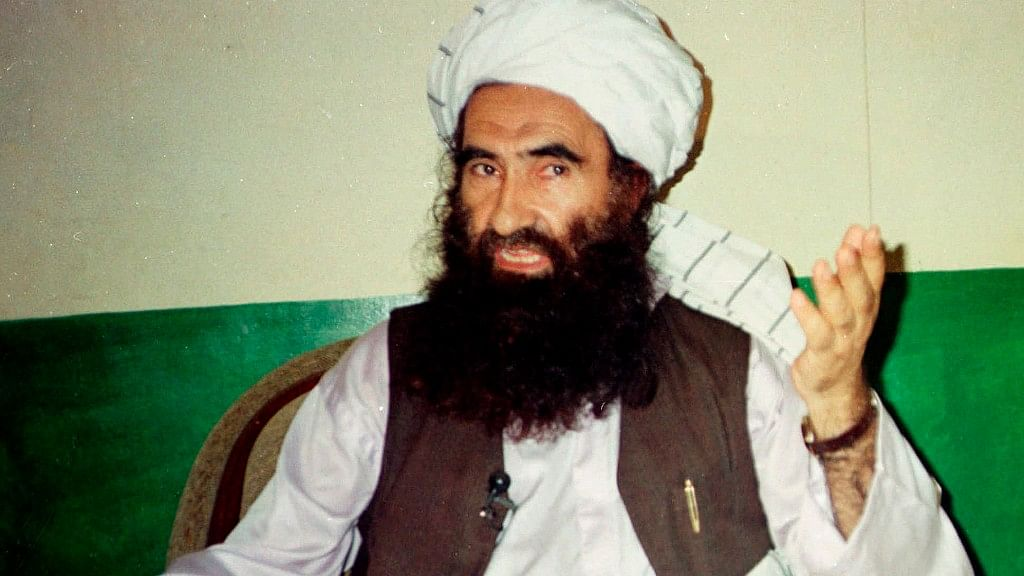 Jalaluddin Haqqani, founder of the militant group the Haqqani network.