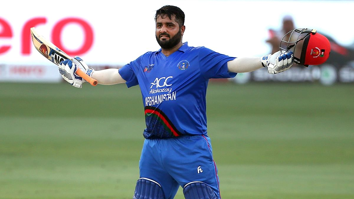 Shahzad's Century Helps Afghanistan Post 252/8 Against India