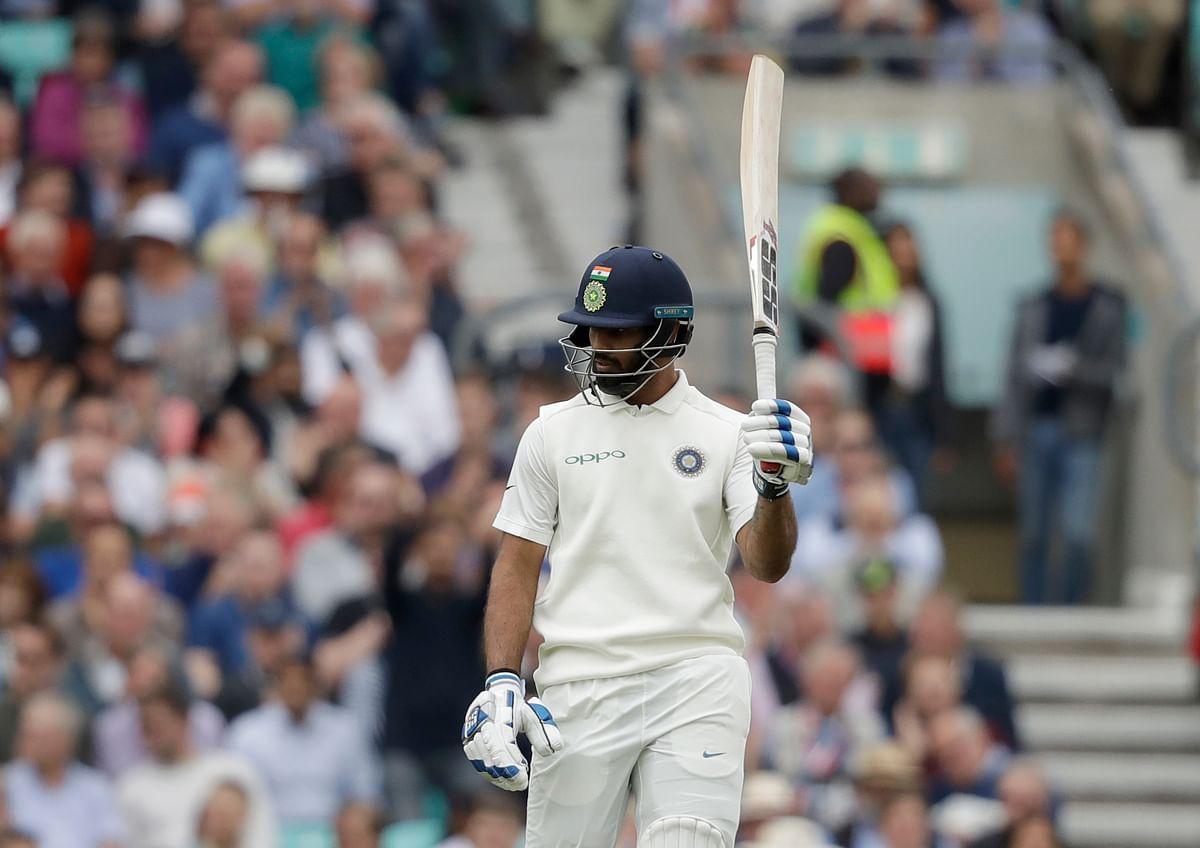 Debutant Hanuma Vihari scored a half-century against England.