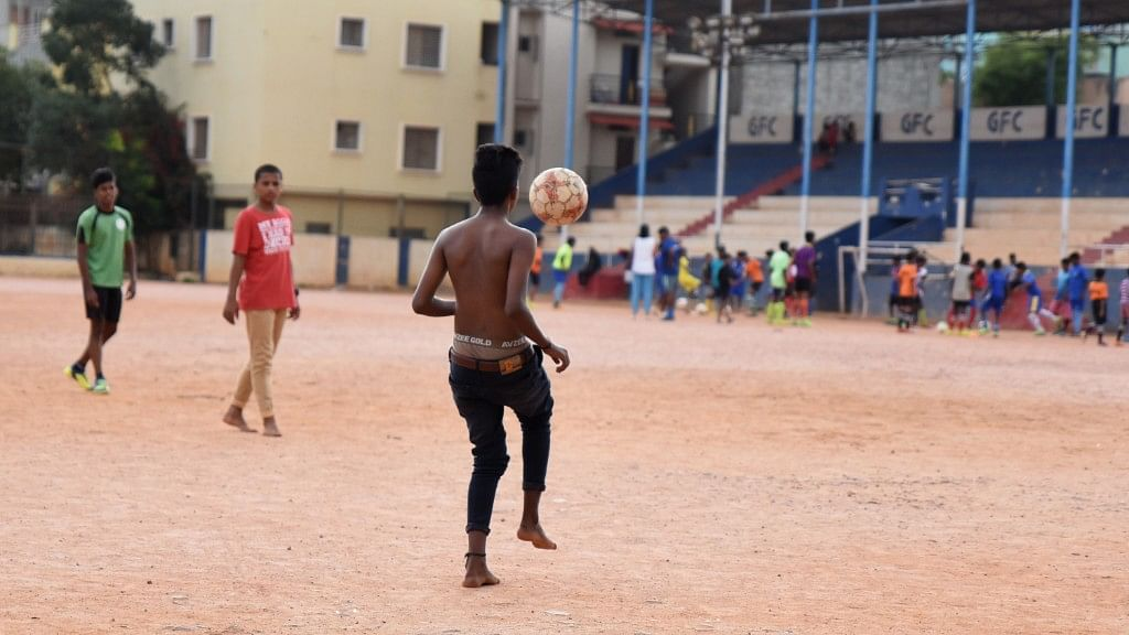 The current generation of Gowthamapuram's footballers relate to the sport in a very different way than the previous generation did.
