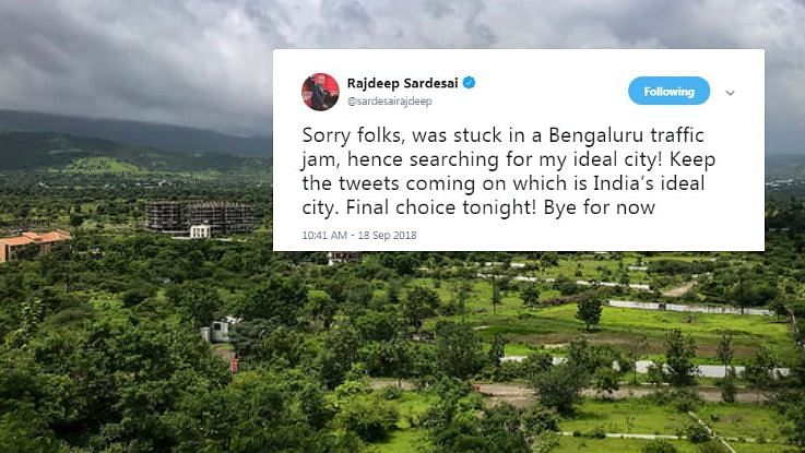 Which is India's Ideal City? Rajdeep Asks Tweeple to Weigh in
