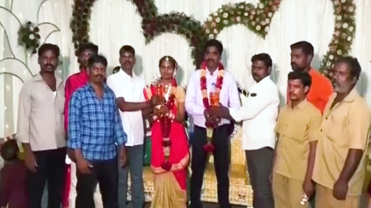 Friends Gift Newly Wed Couple 5 Litres of Petrol