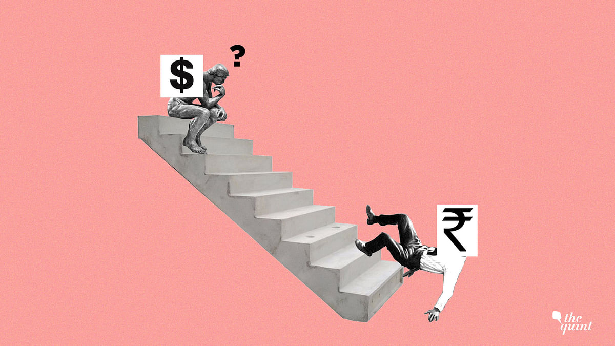 The most recent leg of the rupee fall seems to be more about the sentiment than the fundamentals.