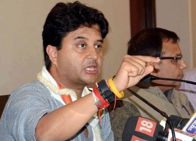 Congress leader Jyotiraditya Scindia. (File Photo: IANS)