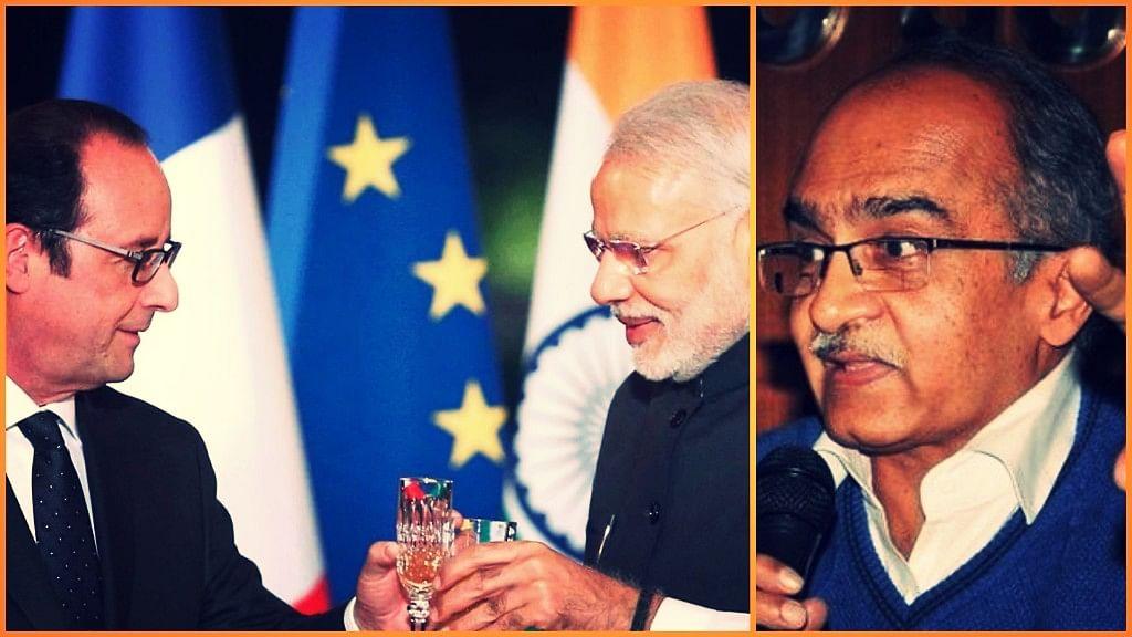 This Govt Has Lied: Prashant Bhushan on Hollande's Rafale Reveal