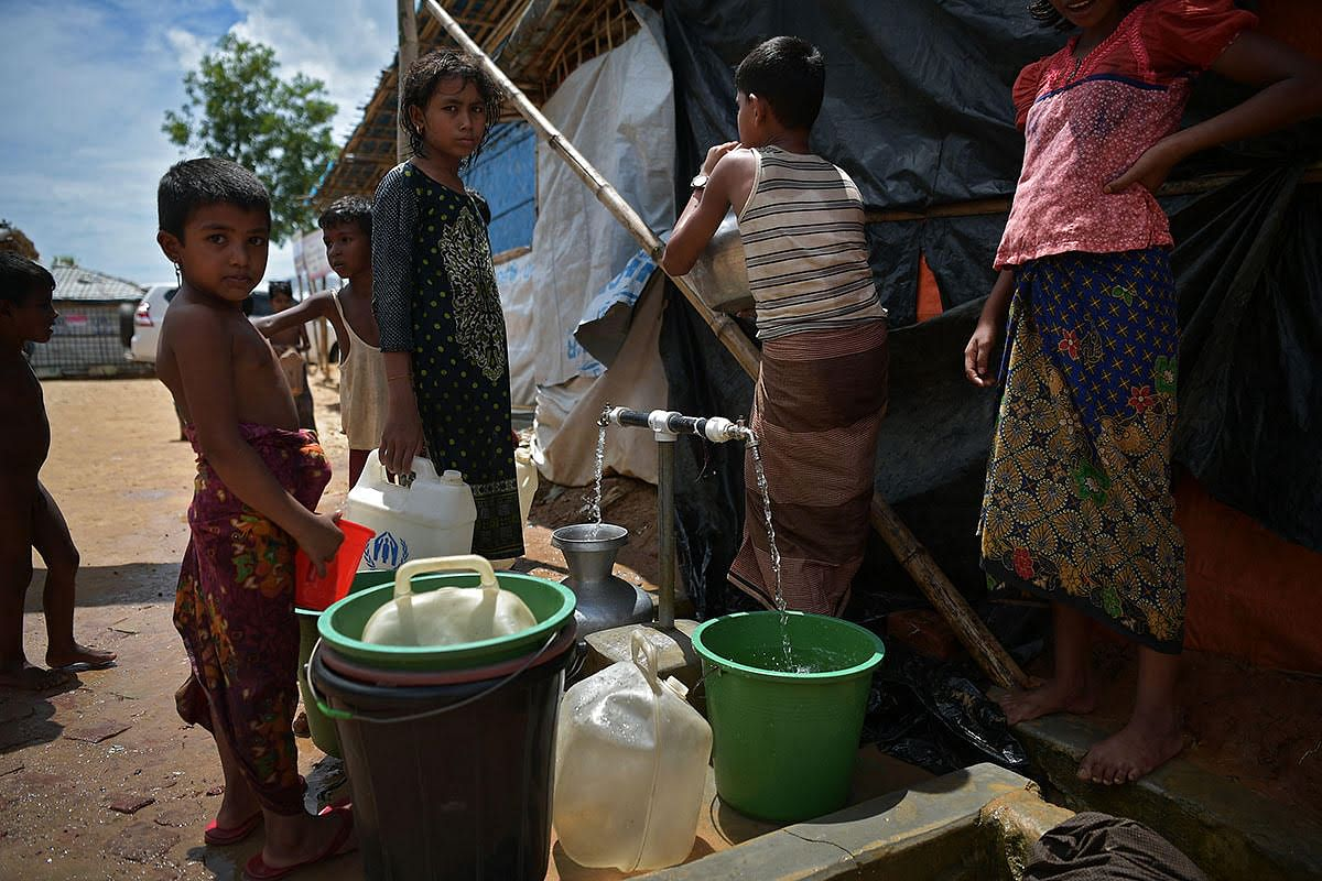 The warmth with which the Rohingya were received last year, in Bangladesh's Cox's Bazar district that adjoins Myanmar, is now a faint, fading memory.