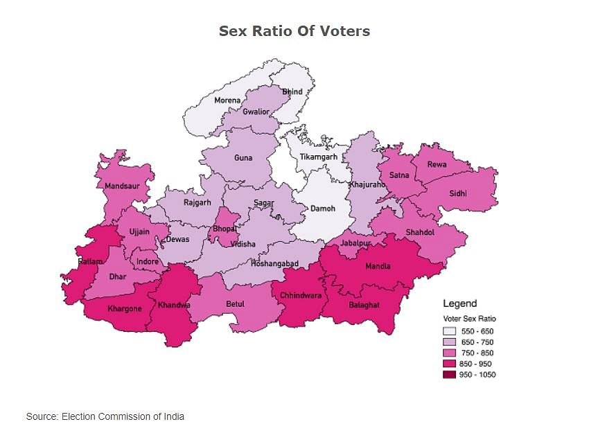 India's Female Voters Not Turning Out to Vote As They Should