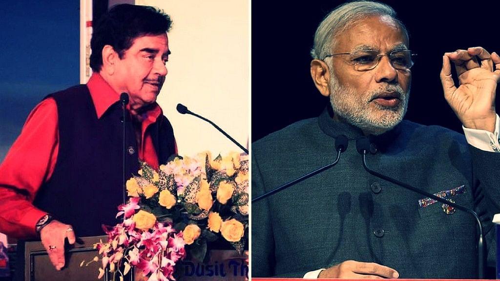 Shatrugan Sinha tells PM Modi to break his silence on the Rafale deal.