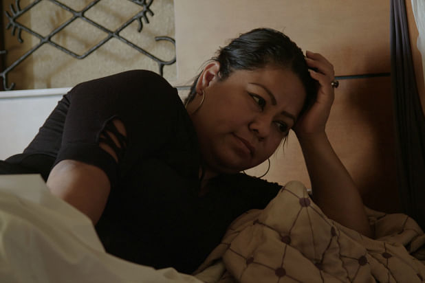 One of the women implanted with Essure.