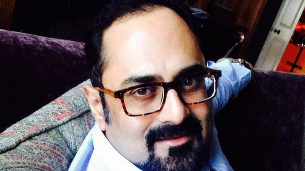 "MP Rajeev Chandrasekhar. (Coutesy: Twitter/ <a href=""https://twitter.com/rajeev_mp/media"">@rajeev_mp</a>)"