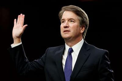 U.S. Supreme Court Judge Brett Kavanaugh . (File Photo: Xinhua/Ting Shen/IANS)