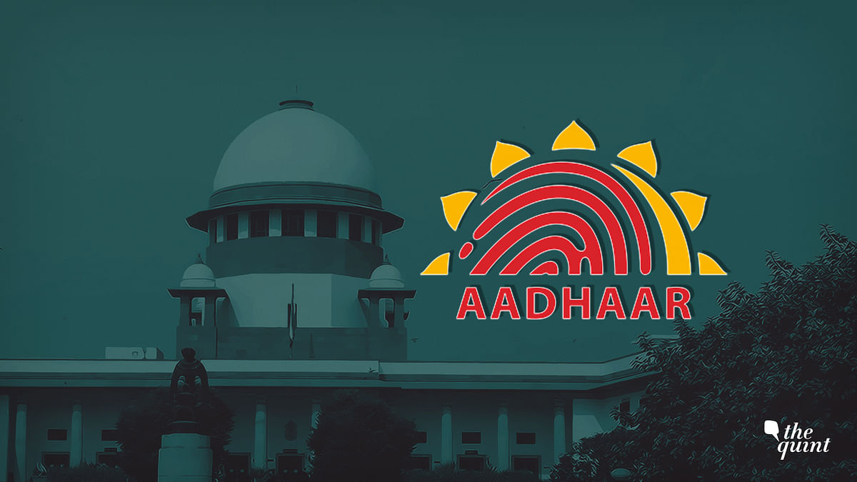 The Supreme Court's Aadhaar Judgment Uses Flawed Logic