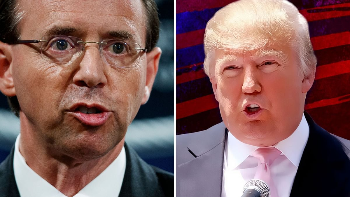 Deputy Attorney General Rod Rosenstein was heading to the White House on Monday expecting to be fired by President Donald Trump following reports that he had made critical comments of Trump.