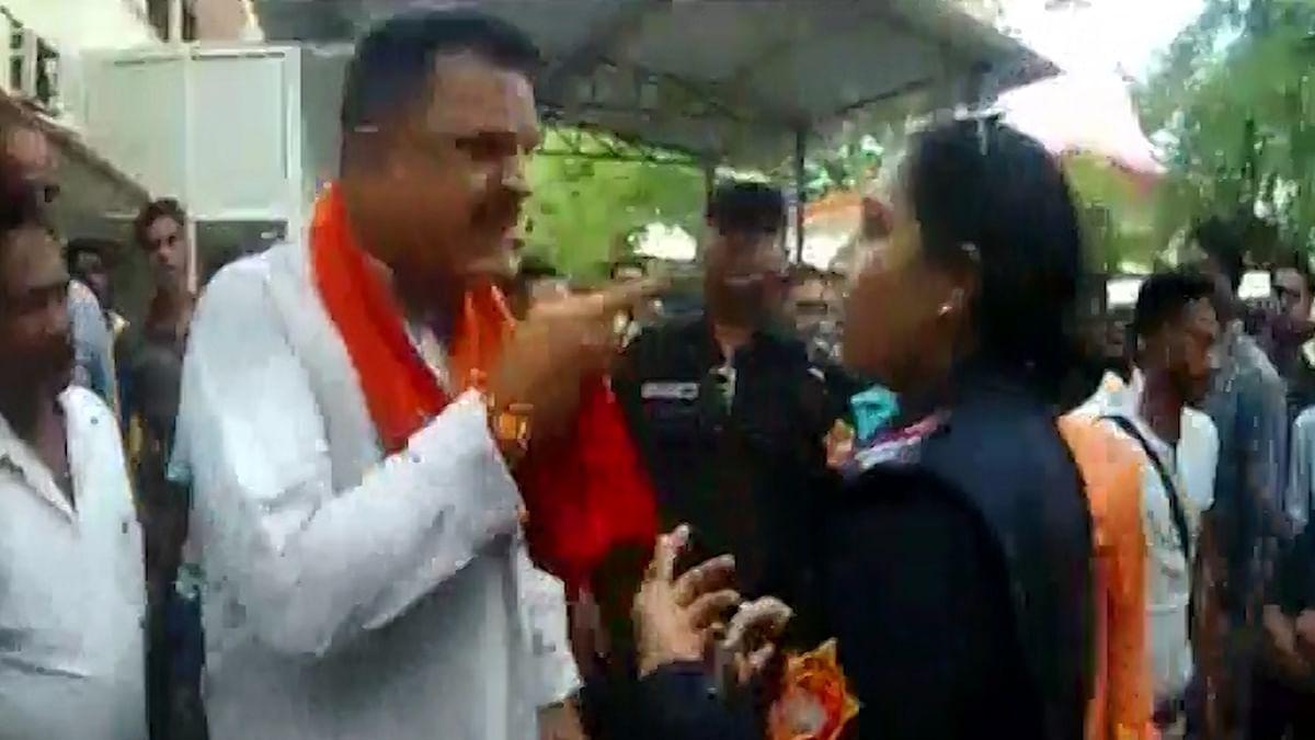 BJP MLA Rajkumar Thukral Abuses Policewoman in Uttarakhand
