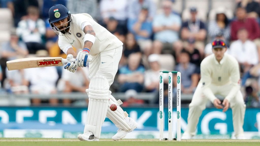 Virat Kohli has already scored more than 500 runs in the five-match Test series against England.