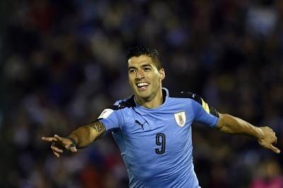 Luis Suarez. (Xinhua/Nicolas Celaya/IANS)