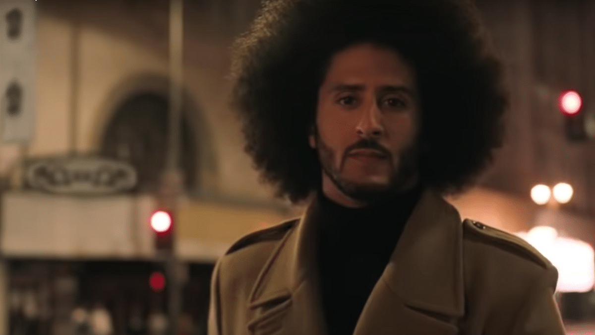 Watch Nike's New–and Controversial–Colin Kaepernick TV Commercial