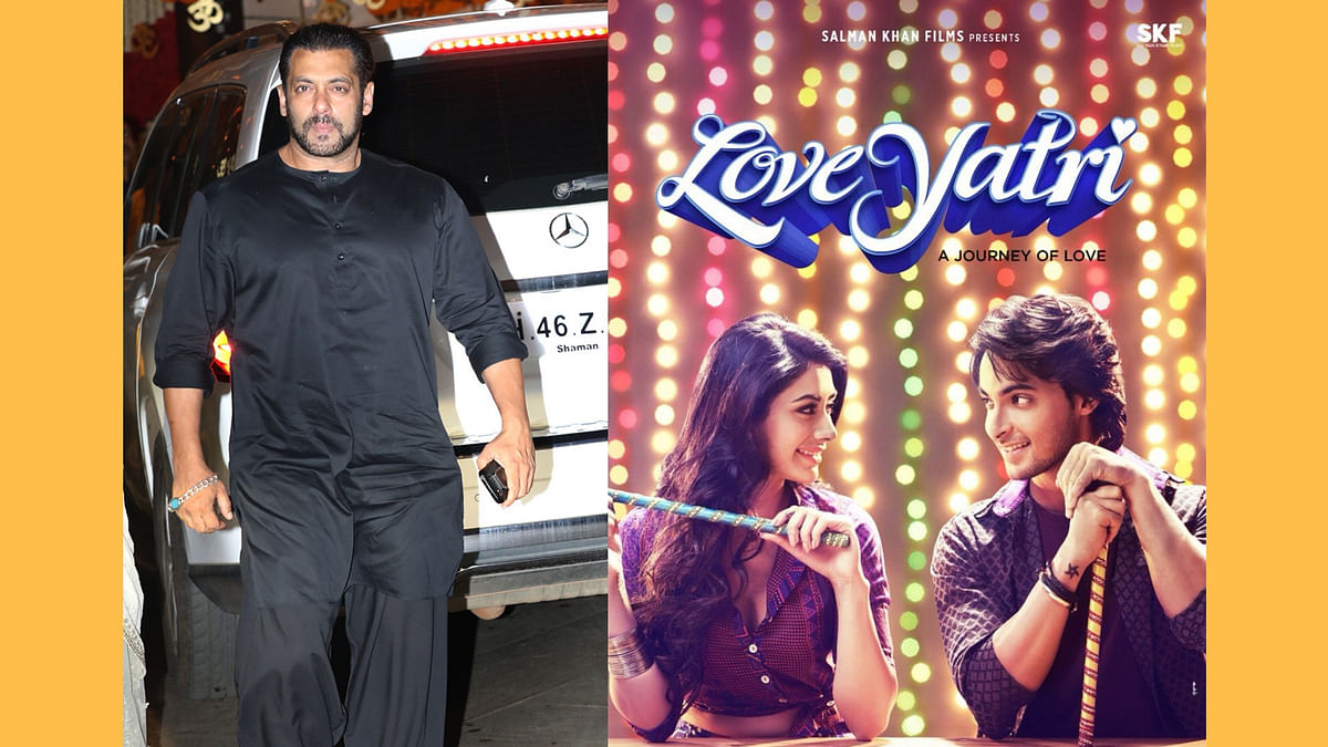 Salman Khan changes the title of <i>LoveRatri </i>to avoid controversy.&nbsp;